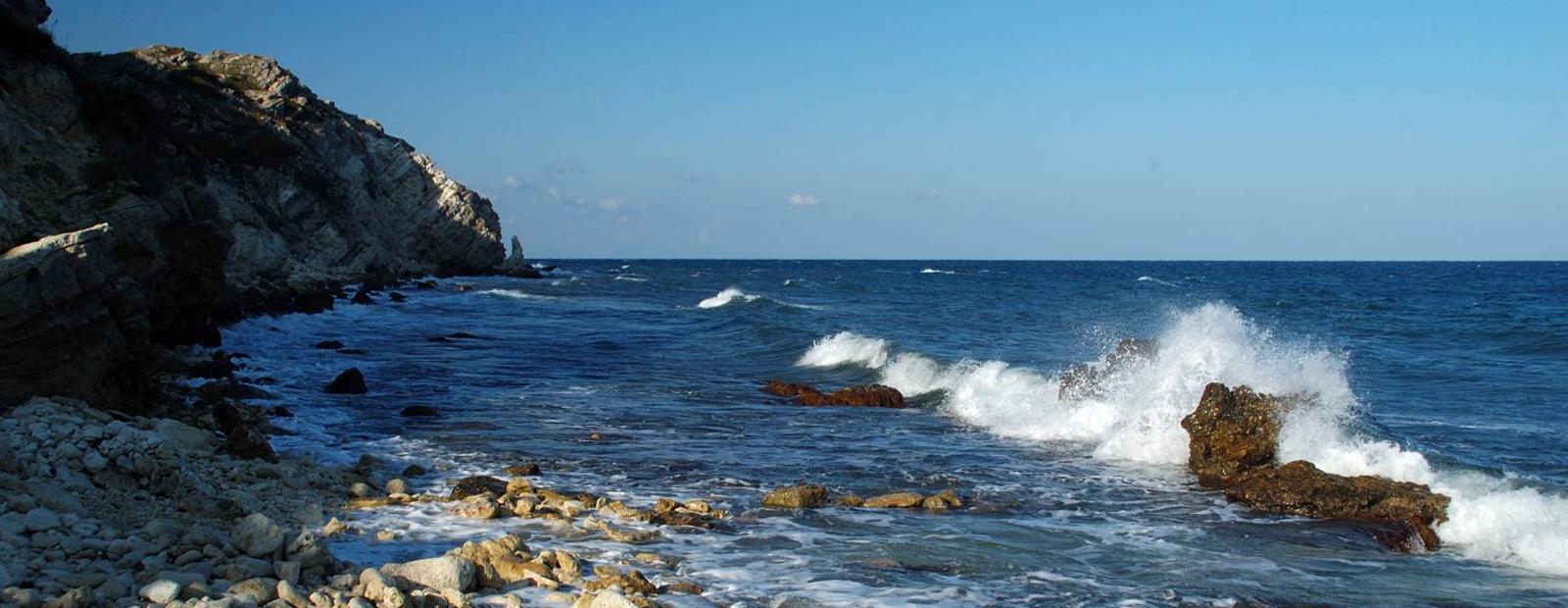 Дикие пляжи чёрного моря фото